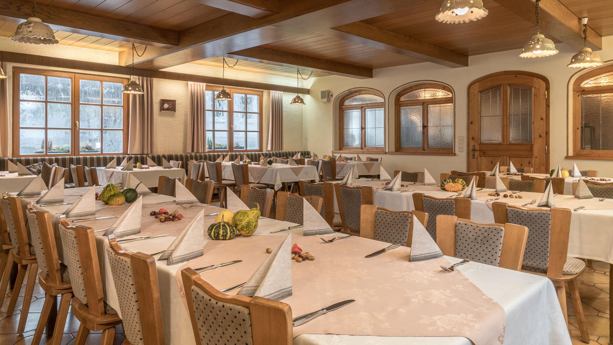 Landgasthof Goldene Rose: Restaurant - kleiner Saal