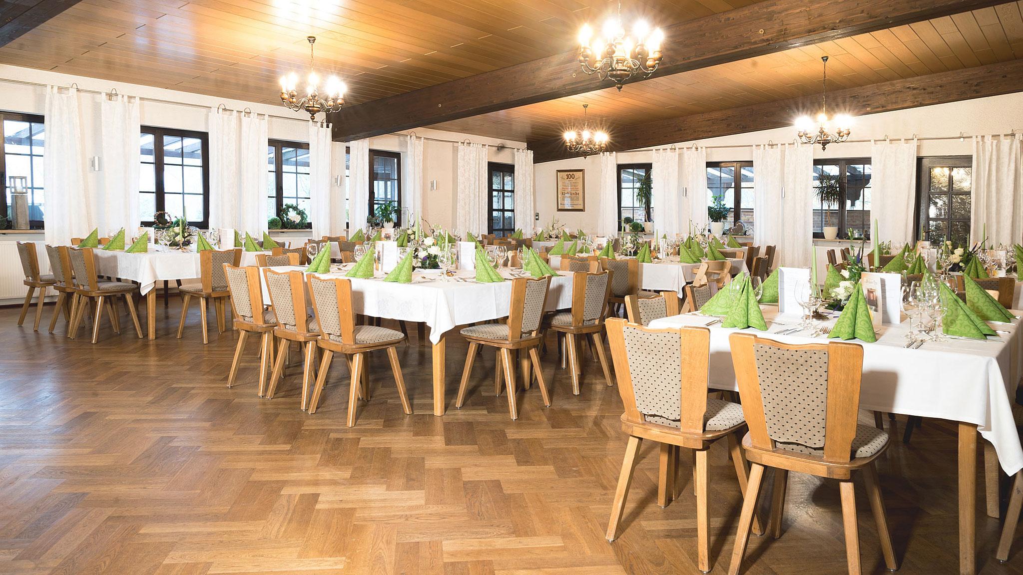 Landgasthof Goldene Rose: Restaurant - Großer Saal