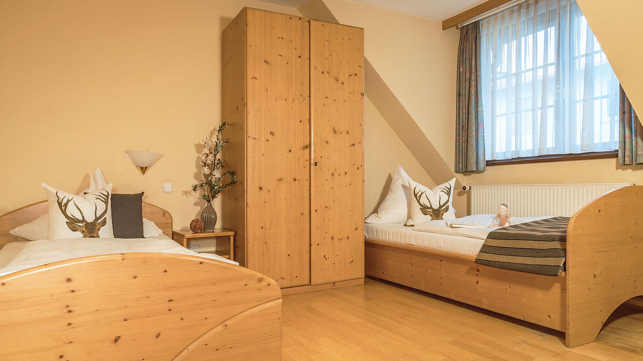 Landgasthof Goldene Rose: Dreibettzimmer