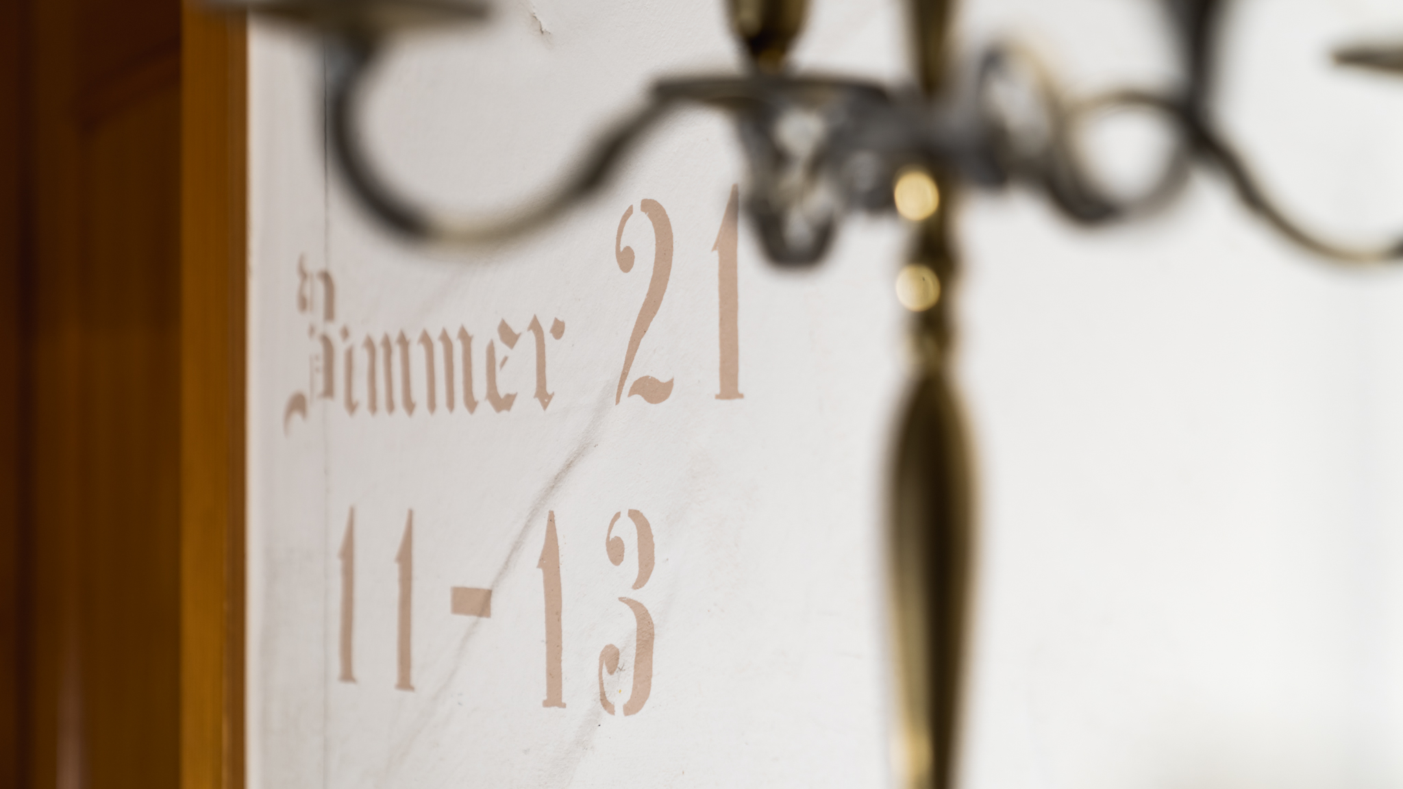 Landgasthof Goldene Rose: Hotel - Zimmerschild