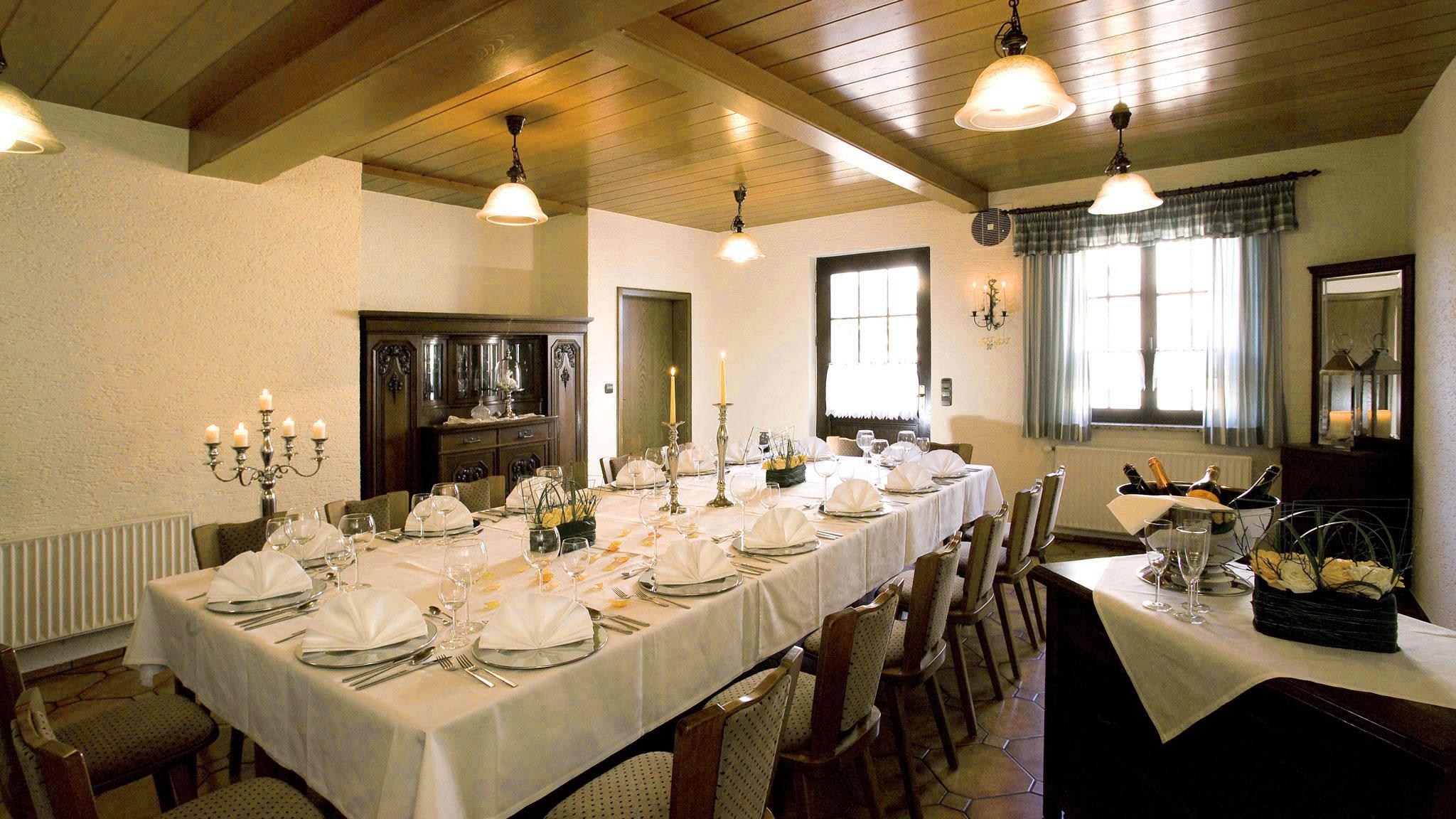 Landgasthof Goldene Rose: Restaurant - Stübchen